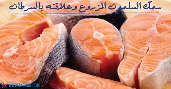 سمك السلمون المزروع وعلاقته بالسرطان - منصة تجربة
