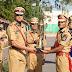 आईपीएस लखन सिंह यादव को बेस्ट टर्नआउट ट्रॉफी