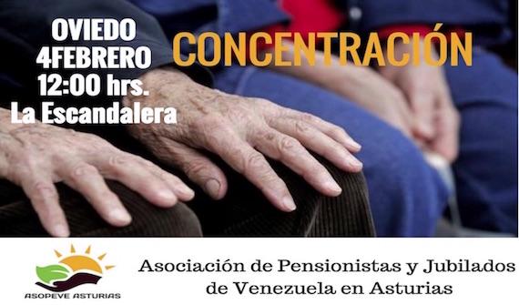 Problemática de las y los pensionistas y jubilados de Venezuela en España.