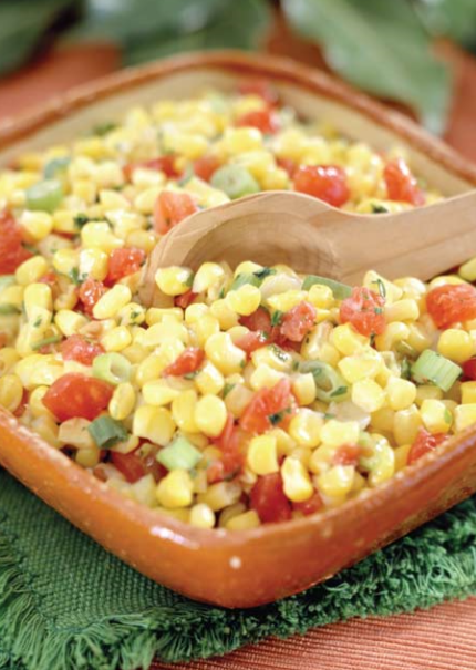 Corn and Green Chili Salad
