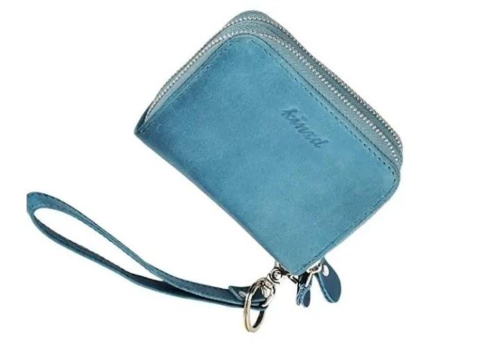 kinzd Accordion Wristlet Wallet for Women review