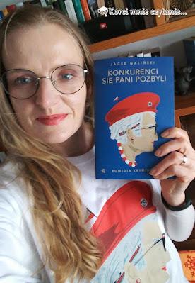 """Jacek Galiński """"Konkurenci się pani pozbyli"""""""