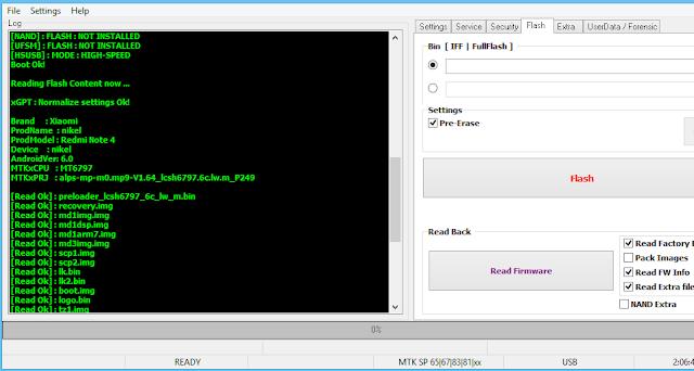 Firmware Redmi Note 4x Mediatek Backup Cm2 Dongle-File Masi Mentah
