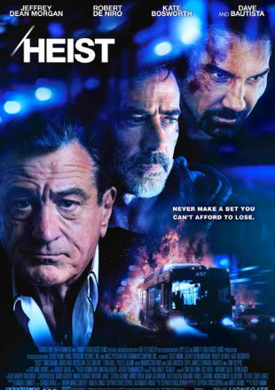 Poster of Heist (2015) BRRip 480p Dual Audio 300Mb ESub In Hindi
