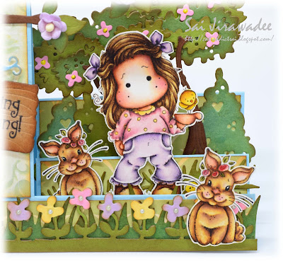 Magnolia Tilda with Little Chickens Bunnies Kit