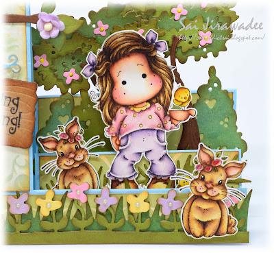 Magnolia Tilda with Little Chickens Bunnies Kit