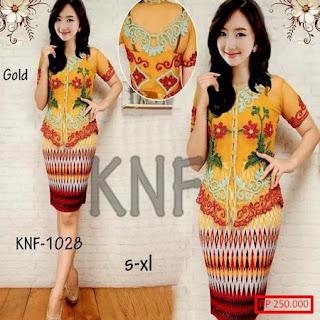 Model Rok Batik Pendek Modern Untuk Kebaya