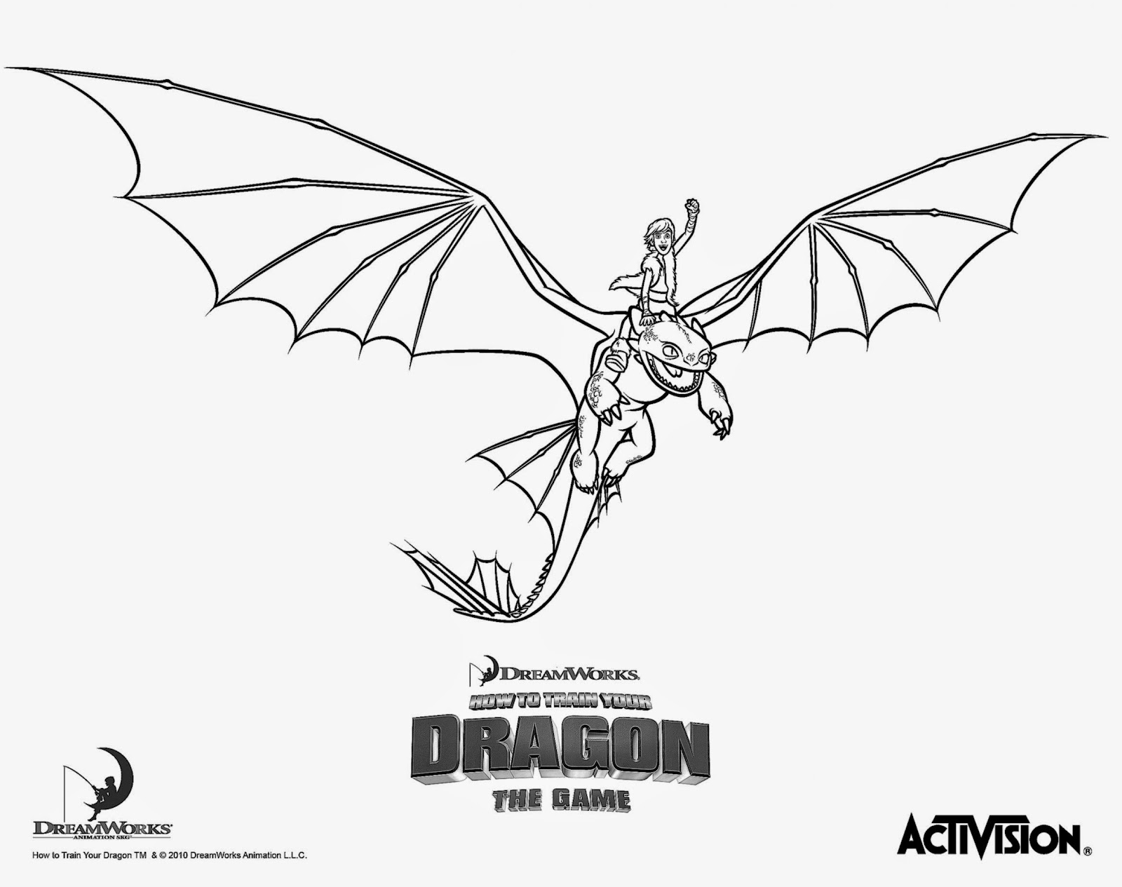- Free Coloring Pictures: How To Train Your Dragon Coloring Pictures