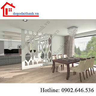 www.123nhanh.com: Trang trí vách ngăn phòng khách và bếp và mẫu phòng khác
