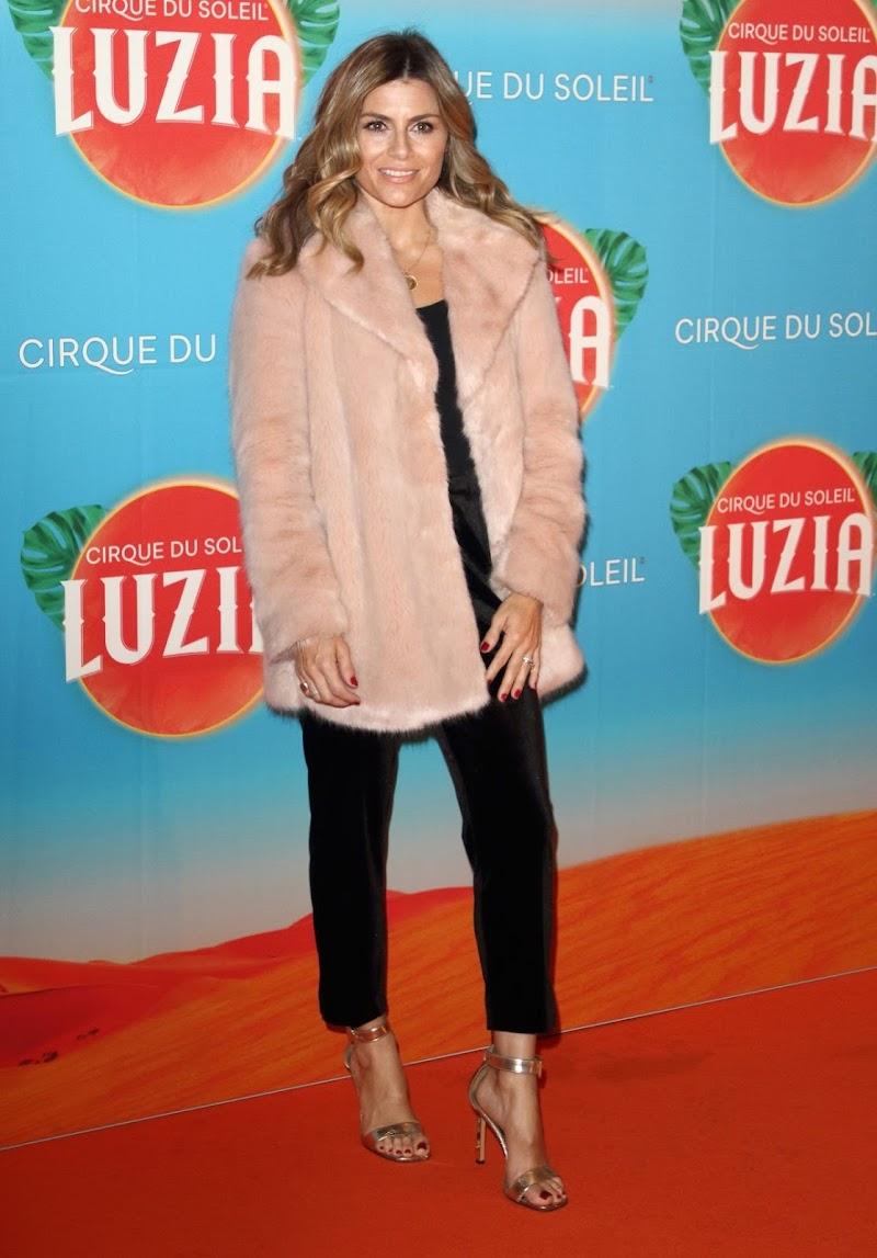 Zoe Hardman Clicks at Cirque Du Soleil Luzia Premiere at Royal Albert Hall in London 15 Jan-2020