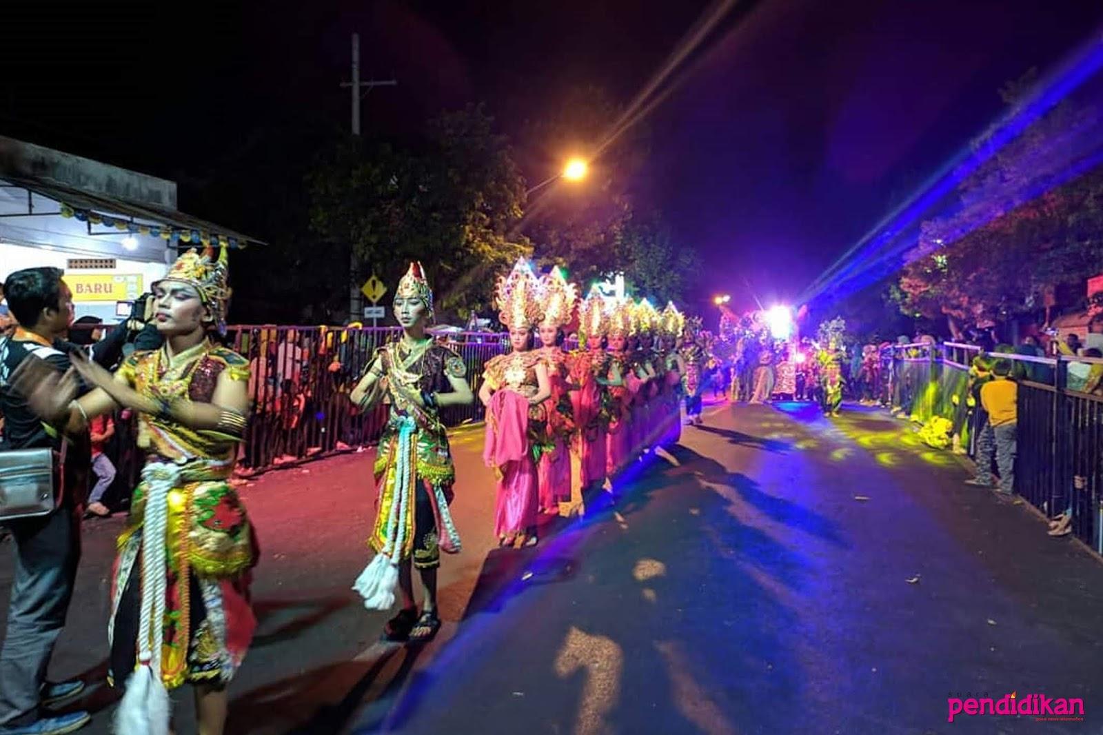 Jatim Specta Night Carnival 2019 Peningkatan Pelestarian Budaya Lokal