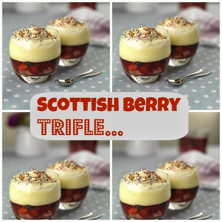 Scottish Berry Trifle: Great For Afternoon Tea
