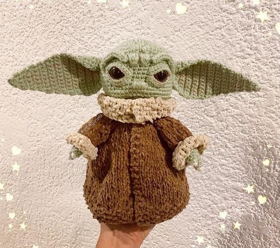 Master Yoda -Crochet Pattern/amigurumi   Patrón de ganchillo ...   512x578