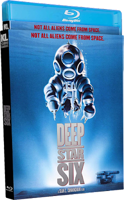 Blu-ray cover for Kino Lorber Studio Classics' Special Edition of DEEP STAR SIX!