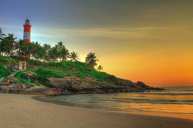 Lighthouse Beach,Kovalam