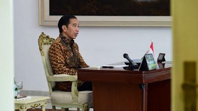 Ikut Meriahkan Konser Donasi Dampak Corona, Presiden Jokowi: Mari Bersama Jaga Indonesia