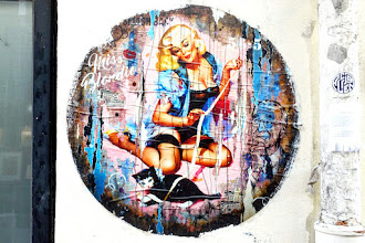 Sunday Street Art : Miss Blondie - rue de l'Echaudé - Paris 6