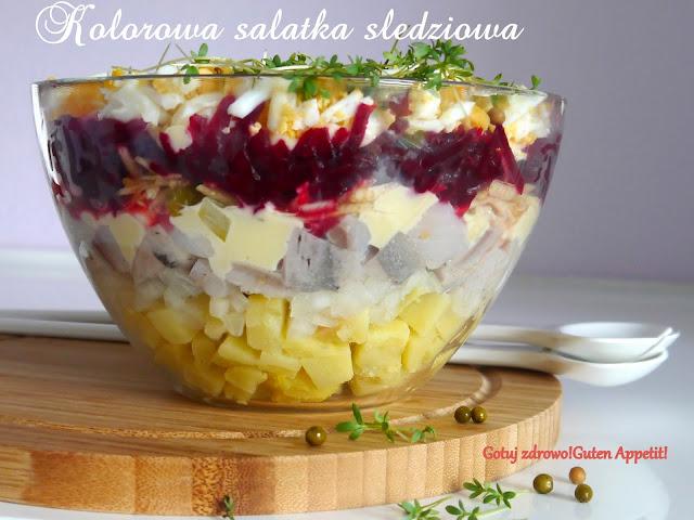 Kolorowa salatka śledziowa - Czytaj więcej »