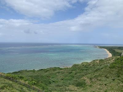石垣島最北端の海