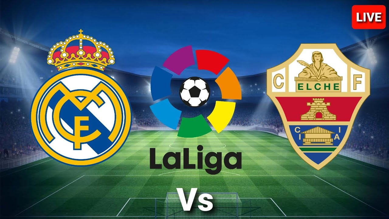 The Real Madrid and Elche live match broadcast live Details today 13-3-2021