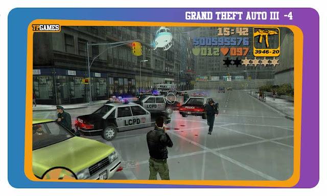 لعبة GRAND THEFT AUTO III