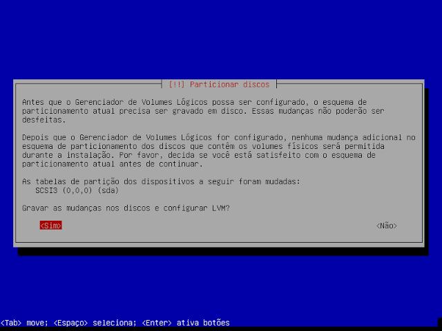 Como instalar o Debian 8 de forma segura, com LVM e Criptografia de Disco!