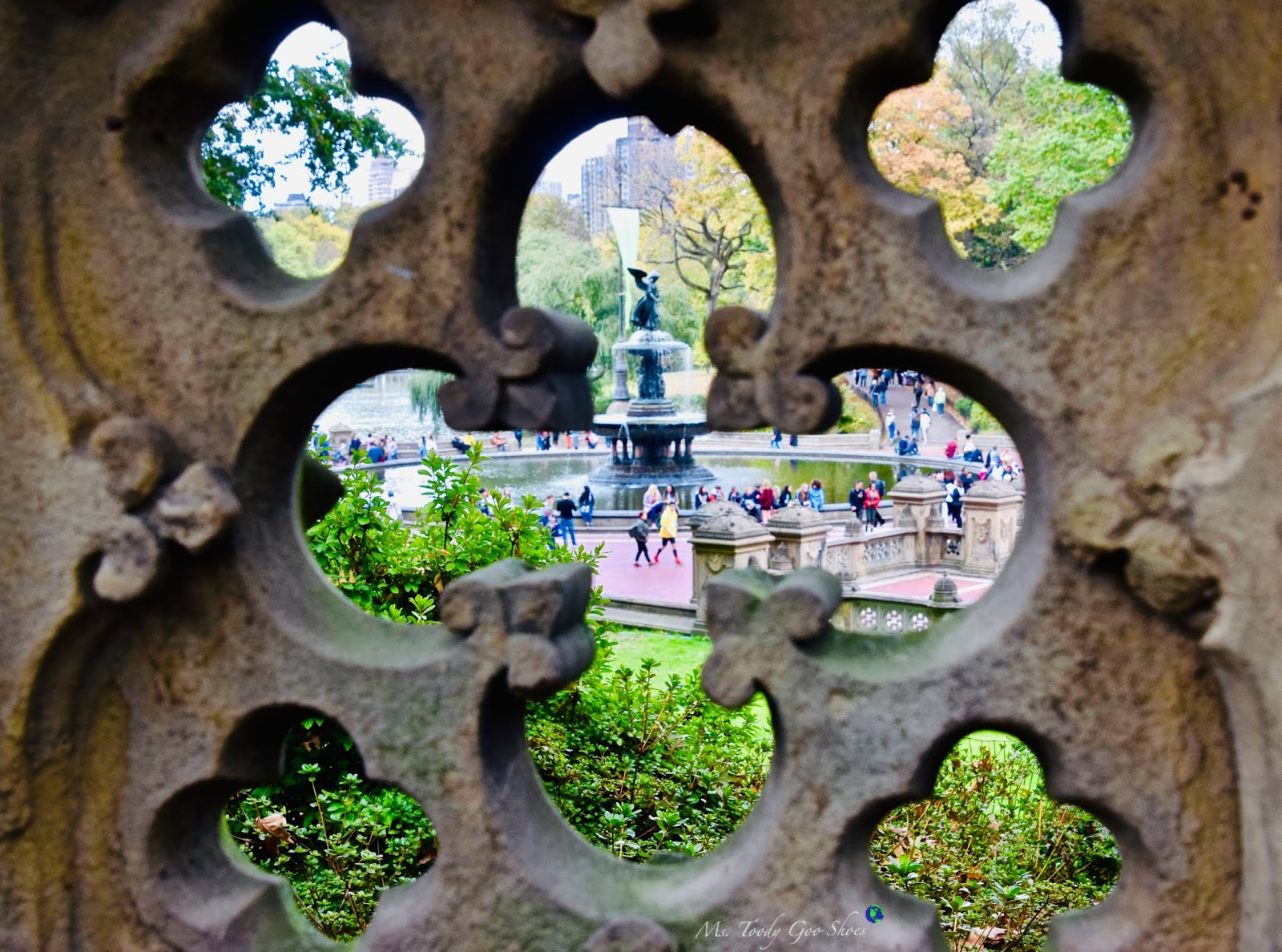 Bethesda Fountain in Central Park, NYC | Ms. Toody Goo Shoes