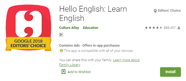 Applikasi Hello English