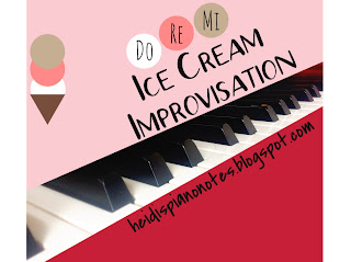 Piano Improvisation for Beginners Ice Cream Improv Piano Lesson Activity and Teaching Solfa