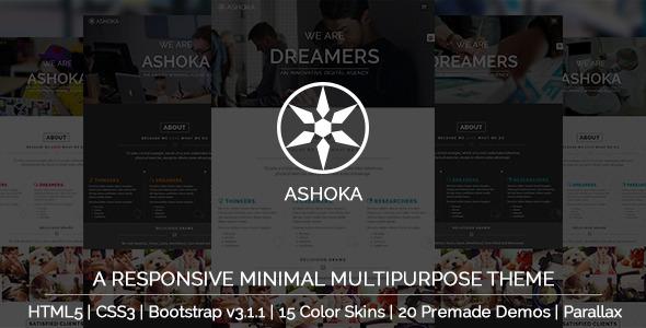 Ashoka Minimal Wordpress Teması