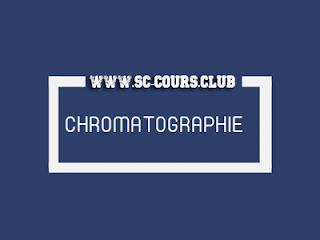 CHROMATOGRAPHIE : COURS PDF