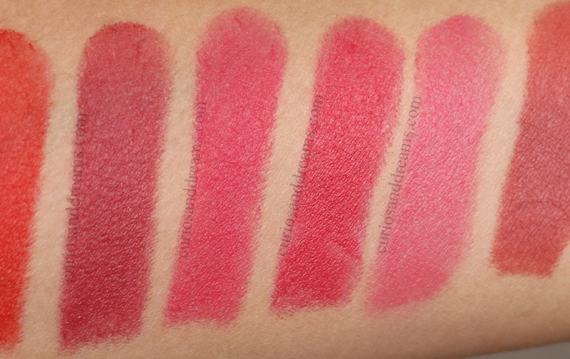 Masaba By Nykaa Lipstick, Masaba By Nykaa Lipstick review, Masaba By Nykaa Lipstick swatches
