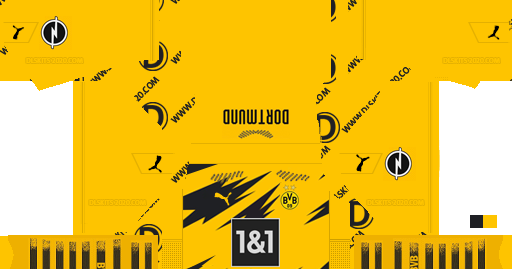 Borussia Dortmund Kits 2020 2021 Puma For Dream League Soccer 2019