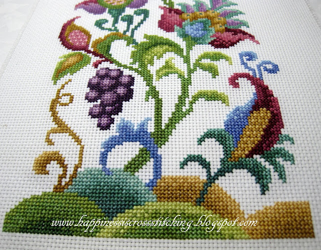 Happiness is Cross Stitching : Winner of Giveaway and recent