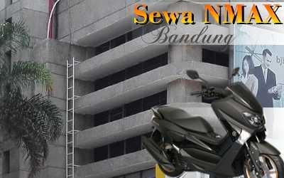 Rental sepeda motor Yamaha N-Max Jl. Kasuari Bandung