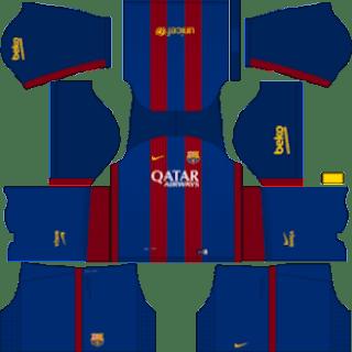 Kit DLS FC Barcelona 2016/2017