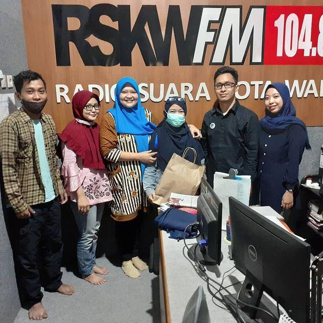 Talkshow di Radio Suara Kota Wali Demak RSKW