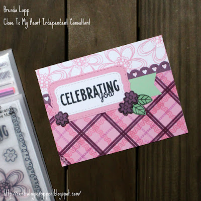 Celebrating You with Pink Plaid