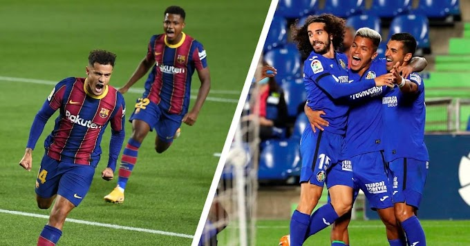 Getafe vs Barcelona possible line-ups, head-to-head record &  preview