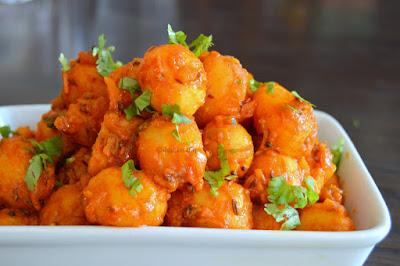 Potato Dry Curry