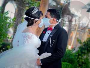 قبلة الزفاف في زمن كورونا