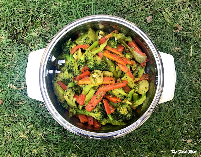 Sautéed broccoli and carrots is a beautiful blend of broccoli and carrots. I totally adore the combination of these beautiful veggies, just stir-fry them and enjoy!