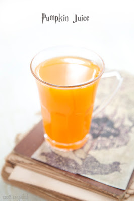 Recette pumpkin juice boisson halloween