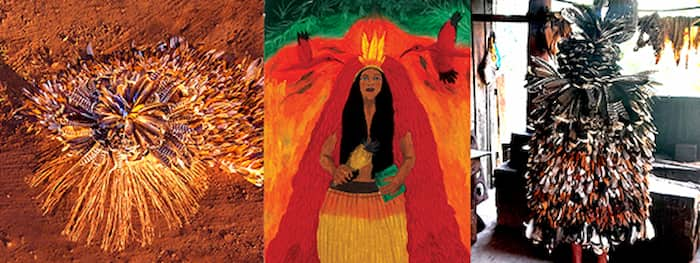 O Ministério do Turismo, a Secretaria Especial da Cultura e a Fundação Nacional de Artes apresentam a exposição Kwá yapé turusú yuriri assojaba tupinambá   Essa é a grande volta do manto tupinambá, a partir da próxima quinta-feira, dia 16 de setembro, às 18h. A mostra ficará exposta na Galeria Fayga Ostrower, na Funarte Brasília, Distrito Federal, até o dia 17 de outubro. A entrada é gratuita e o espaço seguirá todos os protocolos de segurança, em respeito às medidas de saúde pública