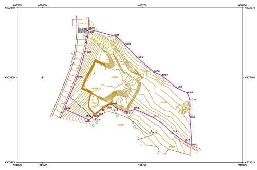 Subsanación de Discrepancias Catastrales Topografos Plano topografico