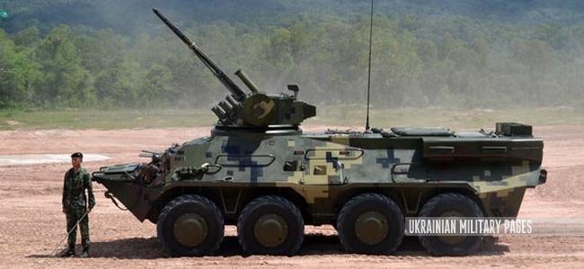 українська бронетехніка у Таїланді