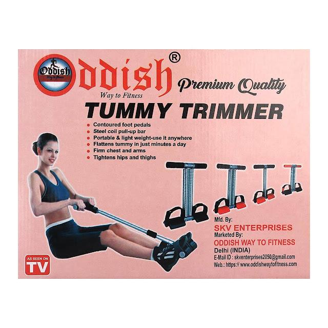 ODDISH Double Spring Tummy Trimmer