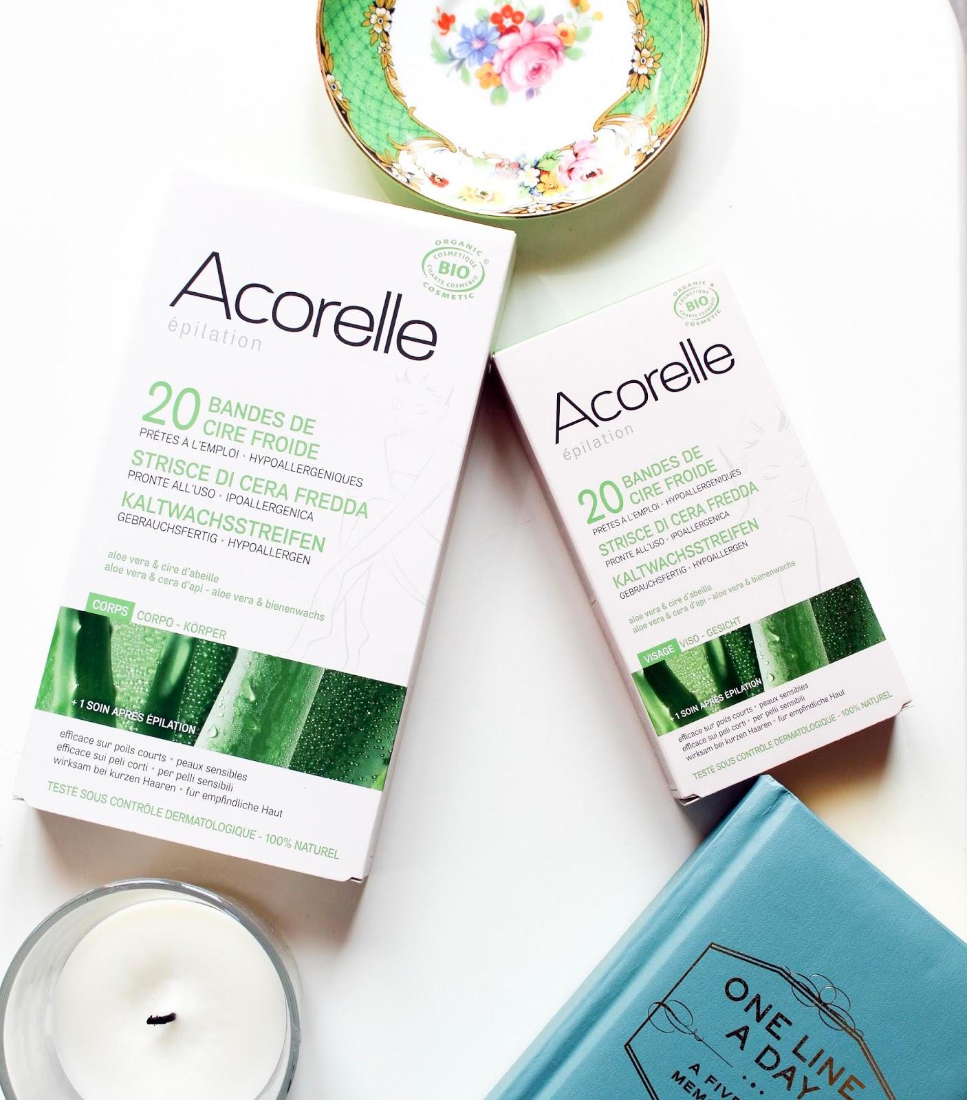 acorelle strisce  Review- Bio Strisce Depilatorie Acorelle
