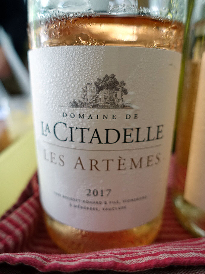 Domaine de la Citadelle Les Atèrmes Rosé 2017 (88+ pts)
