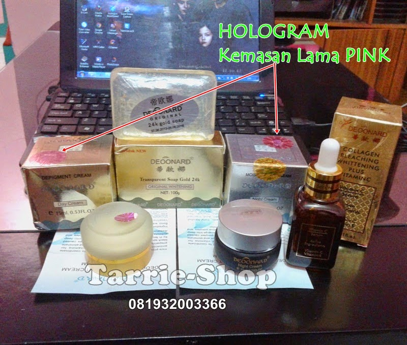 Paket Deoonard Gold Silver Soap Serum